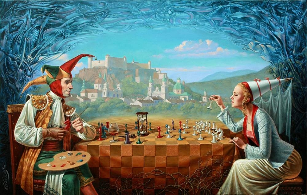 """New Rules of the Old Game, 24"""" x 38"""", oil on canvas, 2011 