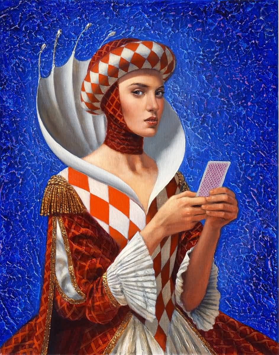 "Queen of Diamods (Series ""Clandestine essence of a Queen"")"