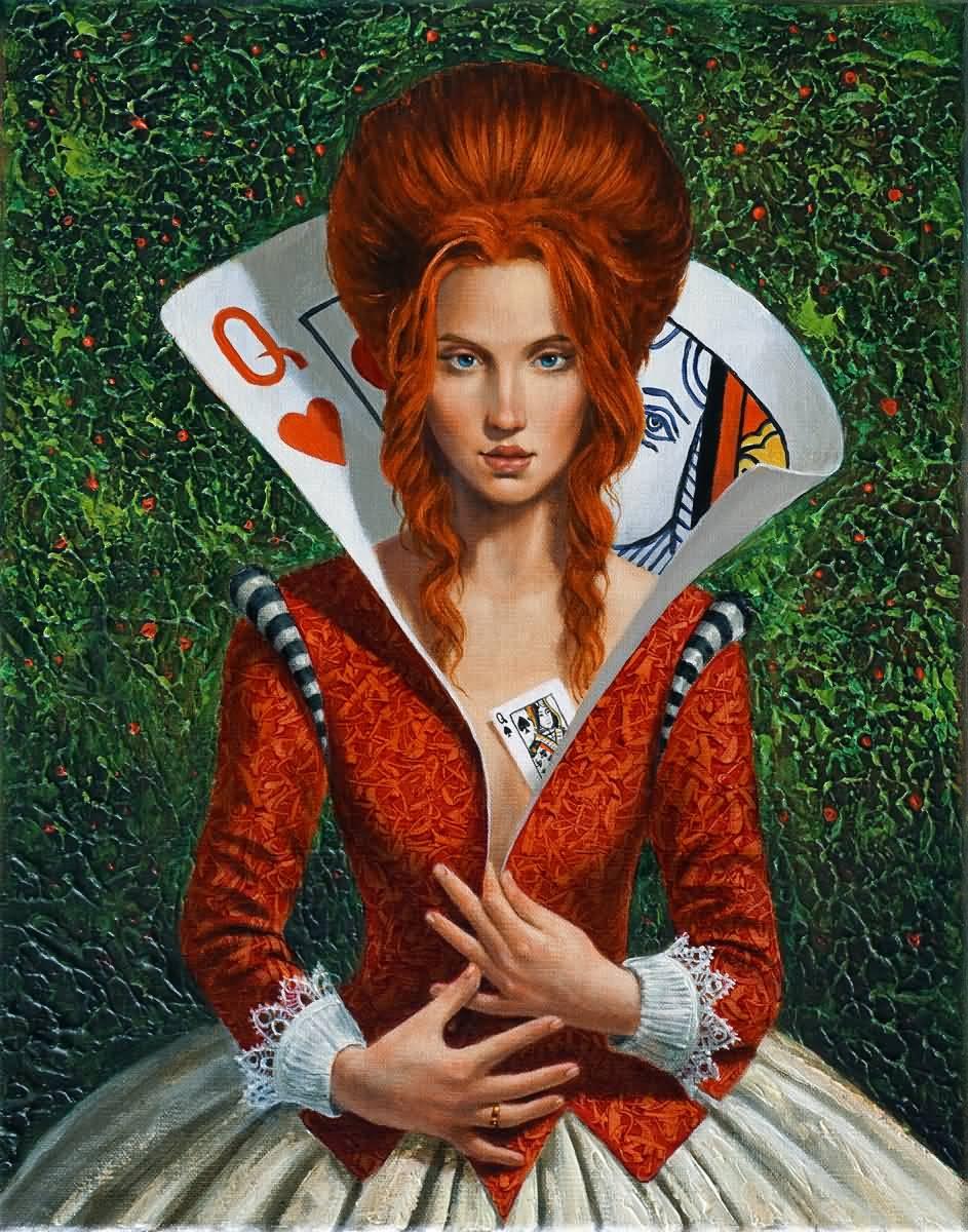 """Queen of Heart (Series """"Clandestine essence of a Queen"""")"""