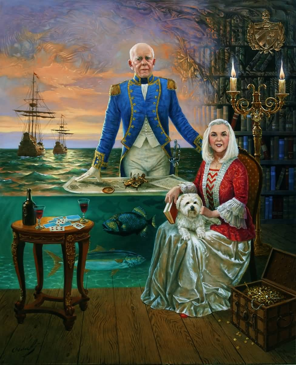 Portrait of Rogelio and Mercedes