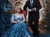 Mr. and Mrs.Andrei Dukhin portrait
