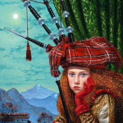 Michael Cheval: Surrealistic Oil Paintings, Drawings, Portraits