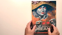 Michael Cheval's Dreams hardcover book